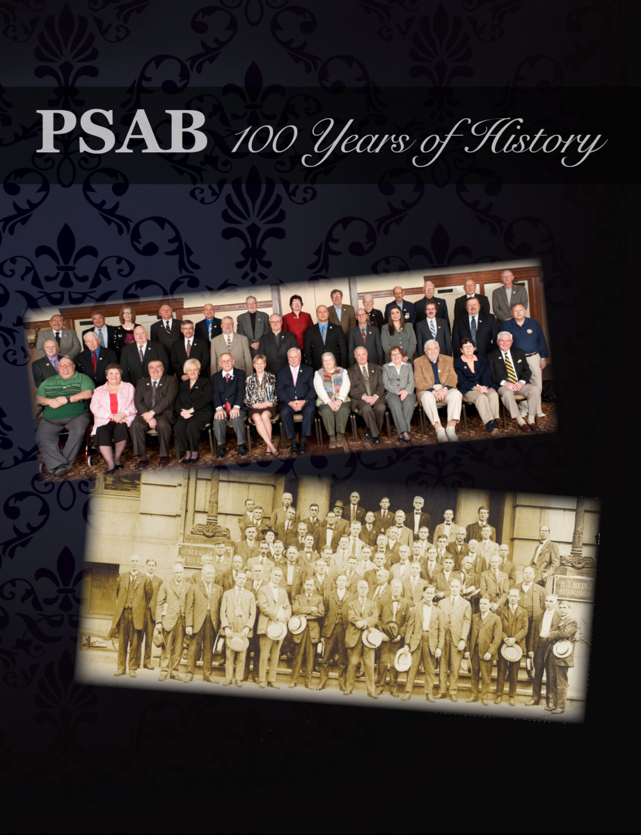 Cover of PSAB history book