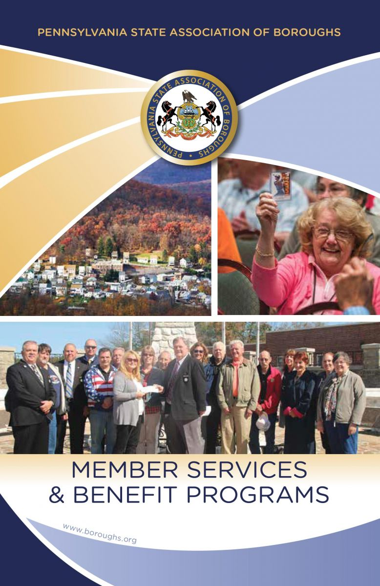 Cover of the Member Benefits Brochure