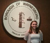 Arianna Taylor is a JCP in Waynesboro Borough, Franklin County. She is a student at Waynesboro Area High School.