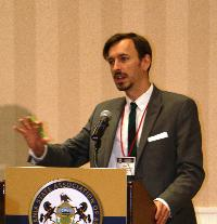 Ryan Allen Hancock, Esq., spoke about same sex marriage and workplace policies.