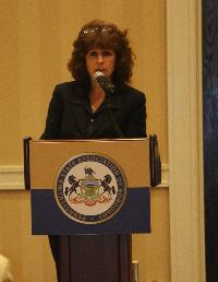 Robin Hittie, Esq., Chief Counsel of the State Ethics Commission, spoke about the Ethics Law.