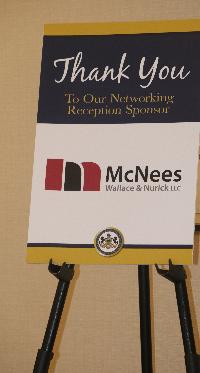 McNees Wallace & Nurick LLC was a sponsor of the networking reception.