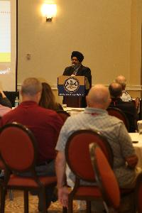 Harpreet Singh Mokha, Regional Director with the U.S. Department of Justice, spoke about civil rights and hate crimes laws.