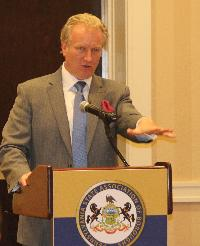 Attorney David MacMain spoke about police liability and force.