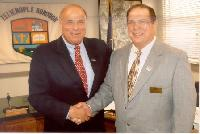 PSAB Past President Tom Oliverio and former Gov. Ed Rendell
